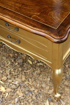 Furniture Flip: Gilded Side Tables - SNAP!