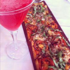 Pomegranate Martini at Maggiano's  #MaggianosHappyHour