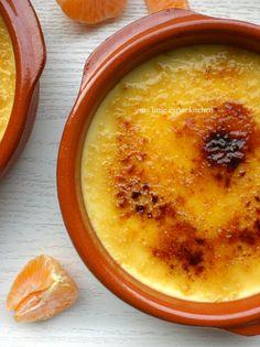 Mandarin Crème Brûlée