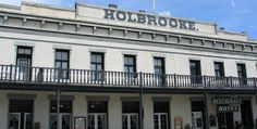 Holbrooke Hotel, Grass Valley, California. I've passed this place SO many times. And only recently within the past couple years found out it's haunted. I even lived in this city for a few years as a kid. I'm so going up there.