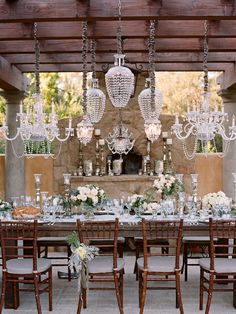 mixed chandeliers