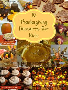 Thanksgiving Desserts for Kids! Easy Kids Recipes for Thanksgiving!