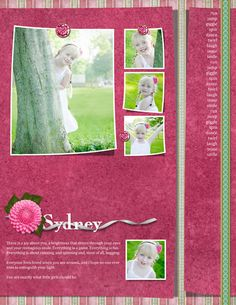 Sydney Digital Scrapbooking Layout by Janine Buckles