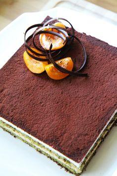 Gourmet Baking: Apricot and Matcha Tiramisu