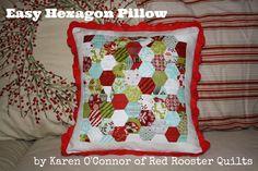 Moda Bake Shop: Easy Hexagon Pillow