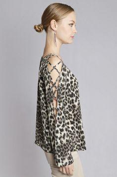 Domina Leopard Tunic