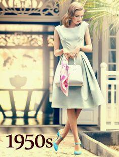 1950s fashion 50s