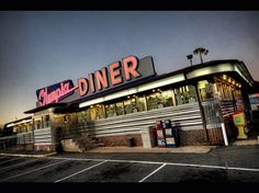 American diner signs   http://pinterest.com/sarahjw123/1950s-style/