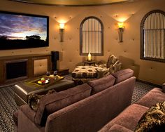 Media Room Ideas on Pinterest
