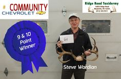 9 & 10 Pt. Winner Steve Wardian