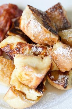 french toast puffs...