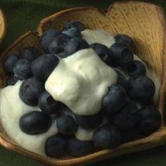 cal dish, blueberri, lemon zest, low carb recipes, fun recip, light desserts, lemon cream, healthy recipes, whipped cream