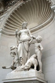Statue of the nymph Thetis