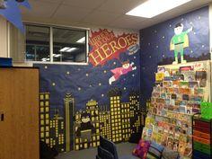 super heroes classroom | Superhero Classroom
