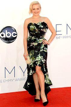 2012 Emmys-Elisabeth Moss in Dolce & Gabbana