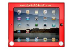 geek, product, etch a sketch, stuff, gadget, ipad case, sketch 20, sketches, etchasketch ipad
