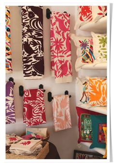Otomi Textiles | decor | CECY j -Splendid Living- Creating the Spirit of Your Home