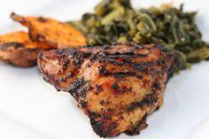 Jamaican Jerk Chicken (from Florida Coastal Cooking)