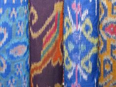 ikat fabric, ikat design, trade compani, beauti ikat, ethnic textil