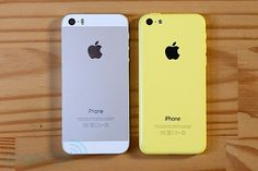 Apple iPhone 5S and iPhone 5C