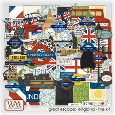 England digi images ... for my England album.