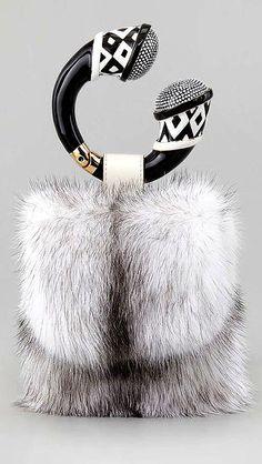 Tom Ford Mink Fur Bracelet Bag