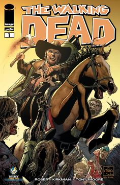 Variant Cover Art for The Walking Dead #1