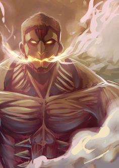 Armored Titan. (Attack on Titan)