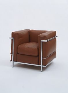 Le Corbusier, Pierre Jeanneret, Charlotte Perriand, Grand Comfort Chair, French, 1928   MOMA   MODERNISM