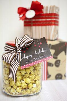 Creative gift wrap for Christmas