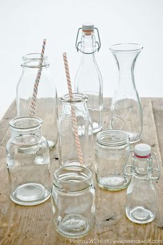My shot for clear props - glasses, bottles and jars! [Photo: @Meeta Wolff]