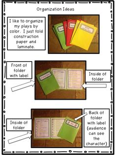 Readers theater organization