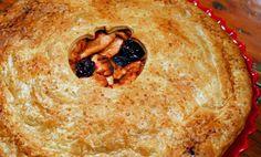 Drunken Cherry + Apple Pie bake, cherri appl, drunken cherri, apples, cherri pie, cherries, drunken spatula, appl pie, apple pies