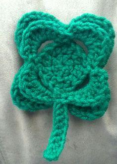 The Hooker-a-holic Crochet: St. Patty's Day Shamrock