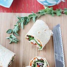 ... Sandwich Recipe with Roasted Red Pepper, Kalamata Olives & Herb Yogurt