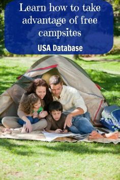 Learn how to take advantage of free campsites - Top 33 Most Creative Camping DIY Projects and Clever Ideas