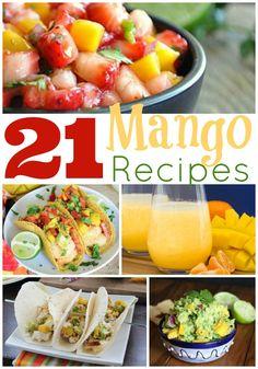 21 Mango Recipes - Salsas, Smoothies, Sauces, and More! - wearychef.com