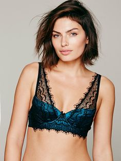 Free People Bisou Bisou Azure Underwire, $49.95
