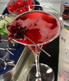 GREY GOOSE® CHERRY NOIR COURONNE ROYALE: For a regal dinner party, or just a special celebration.