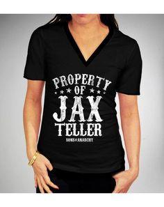 Property of Jax Teller t-shirt fashion, style, jax teller, son, tshirt, soa