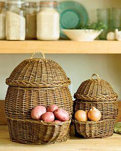 potato and onion storage