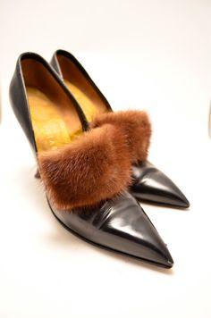Absolutely FANTASTIC Herbert Levine stilettos size 7 by melsvanity