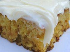 Miss Susan's Pineapple Sheet Cake Recipe
