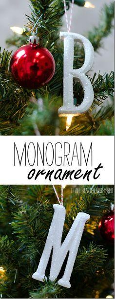 Easy Monogram Orname