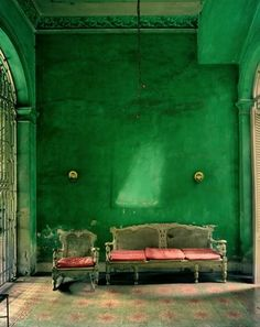 Wow love the green