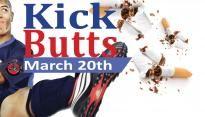 Kick Butts at UNH - #UNHKickButts