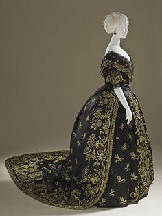 Court Dress | c. 1845