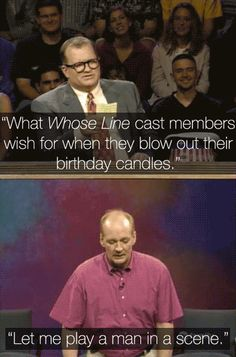 hahhaha whose line is it anyway