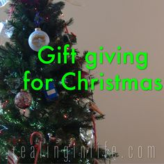 Thoughts on Gift giv