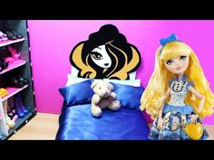 How to make a universal EVER AFTER HIGH DOLL BED